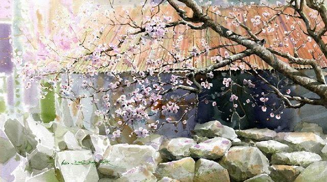 Korean Watercolor Painter