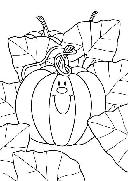 Coloriage Dune Ecole A Imprimer.Coloriage D Une Belle Citrouille A Imprimer Pour Halloween