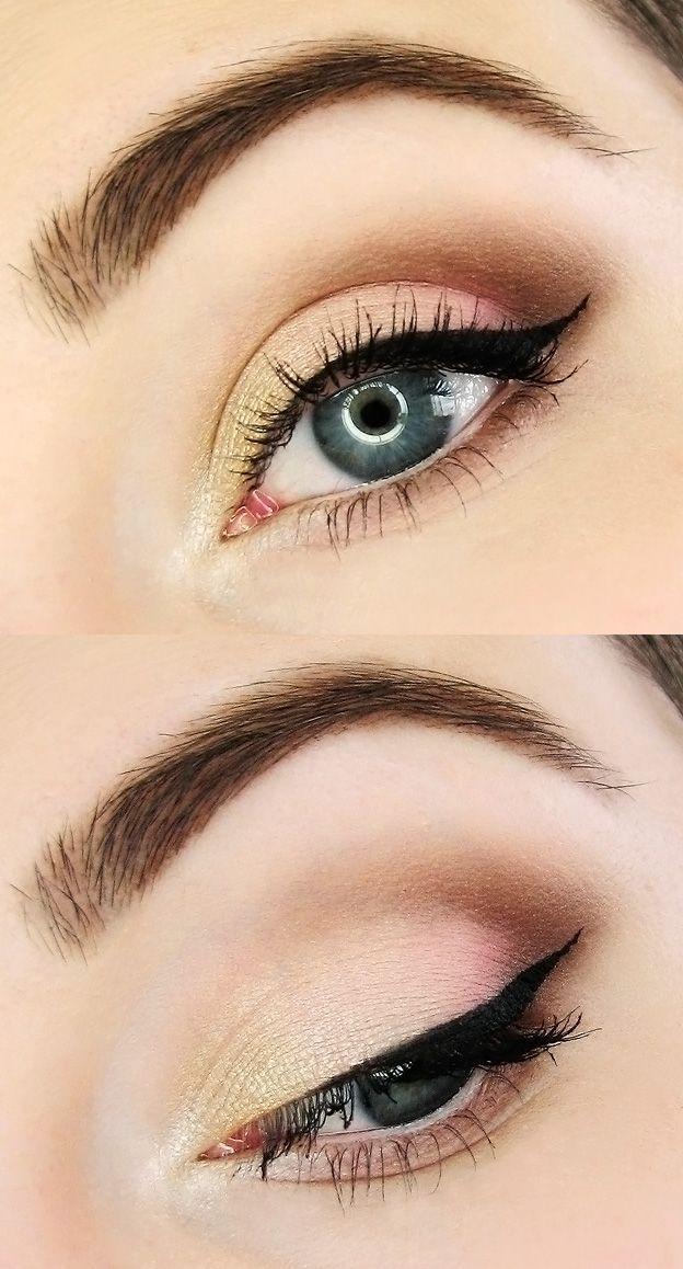 Wedding #makeup for blue eyes #EyeMakeupProm   Subtle ...
