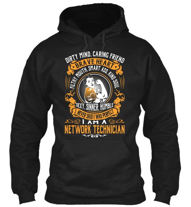 Network Technician - Brave Heart #NetworkTechnician