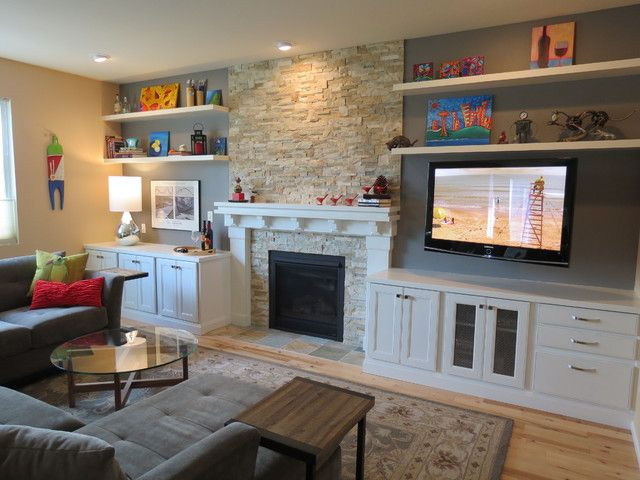 floating shelves by fireplace awesome design for modern floating shelves above fireplace cozy living room - Floating Shelves In Living Room
