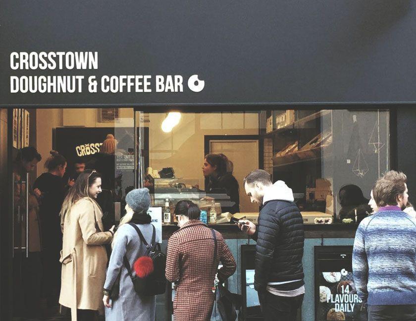 Crosstown Doughnuts Broadwick St Soho London