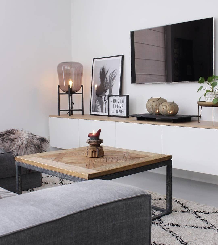 """Wandkuss on Instagram: """"Nach der Sofaposition ist die Ausrichtung des Fernsehers die wohl entscheidendste Überlegung bei der Gestaltung eures Wohnzimmers. Montiert…"""""""