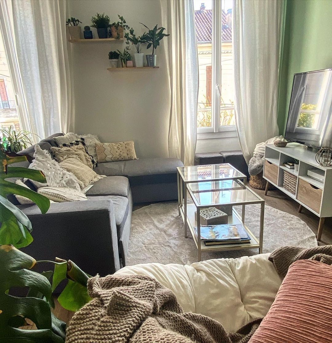 """Siham on Instagram: """"Home ✨ #homesweethome #homedecoration #homedesign #decorationinterieur #confinement #restezchezvous #stayhome"""""""