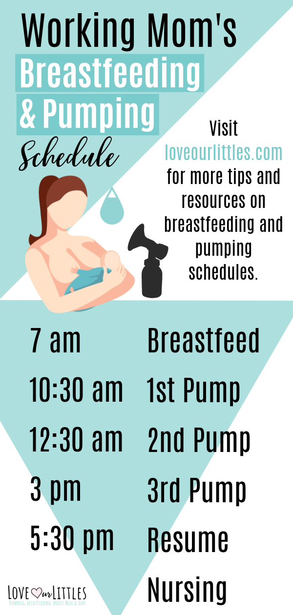 Breastfeeding And Pumping Schedule How To Balance Both -4419