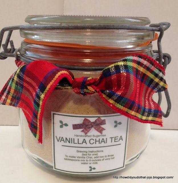 Howd you do that sugar free vanilla chai tea feeling festive sugar free vanilla chai tea negle Choice Image