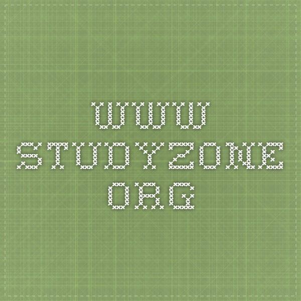 www.studyzone.org