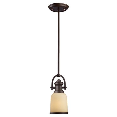 Illuminate a cozy reading nook or cast a warm glow over your kitchen island with this chic mini pendant, showcasing a vintage-inspired silhouette and glass s...
