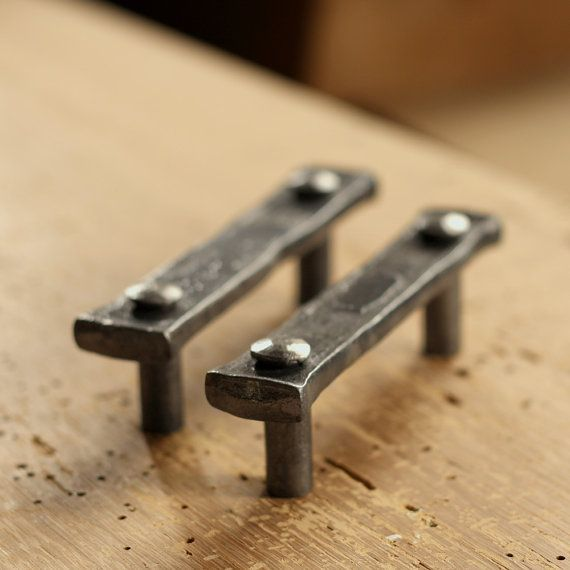 Lovely Rustic Iron Cabinet Pulls