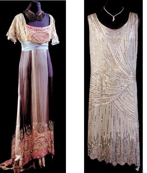 Robe De Soir E Des Ballets Russes Des Ann Es 20 Robes Des Ann Es 20 Pinterest