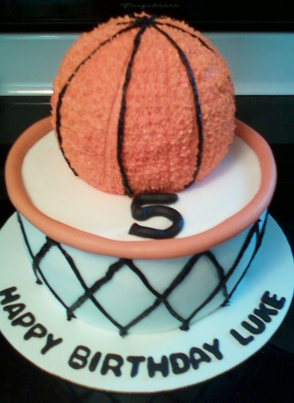 Basketball and goal Basketball cake, Duke basketball