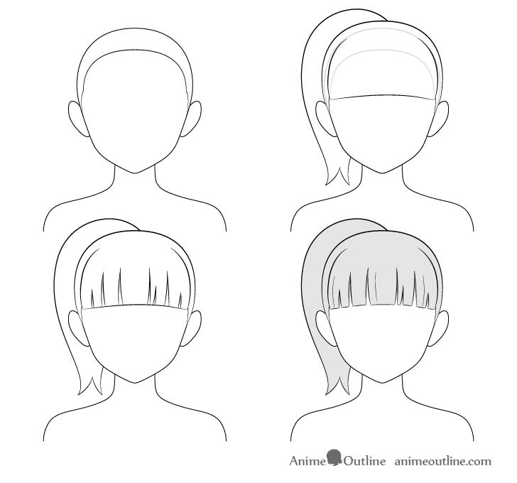 Photo of how to draw manga