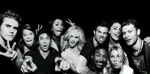 tvd and to best tv shows  on We Heart It