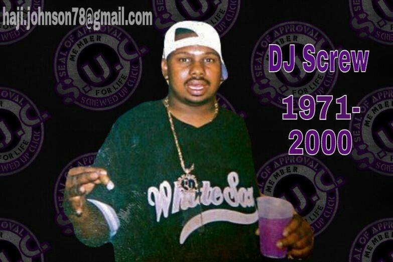 Dj screw music rap houston urban art legend