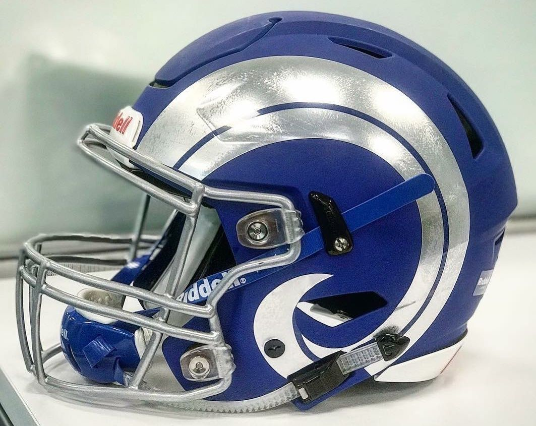 Pin by Rob Cook on La rams Football helmets, Nfl