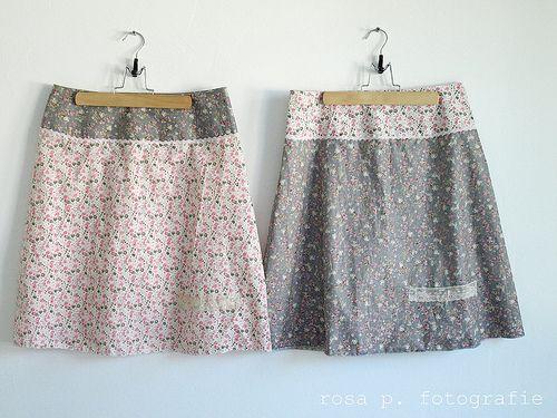 römö skirt | sewing inspirations | Pinterest | Nähen, Kleidung und Rock
