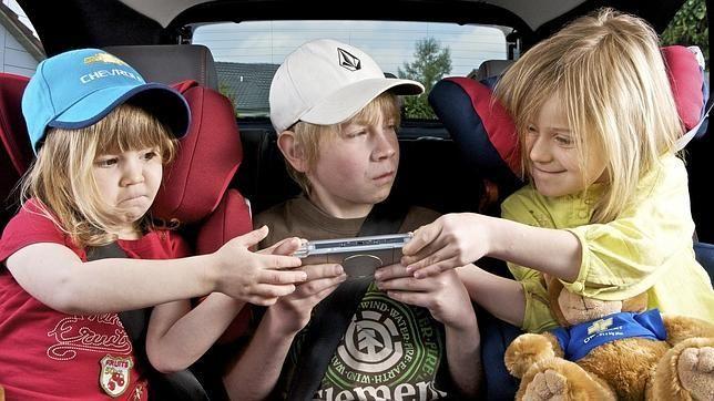 los ocho juegos ms divertidos para entretener a los nios cuando viajan en el coche