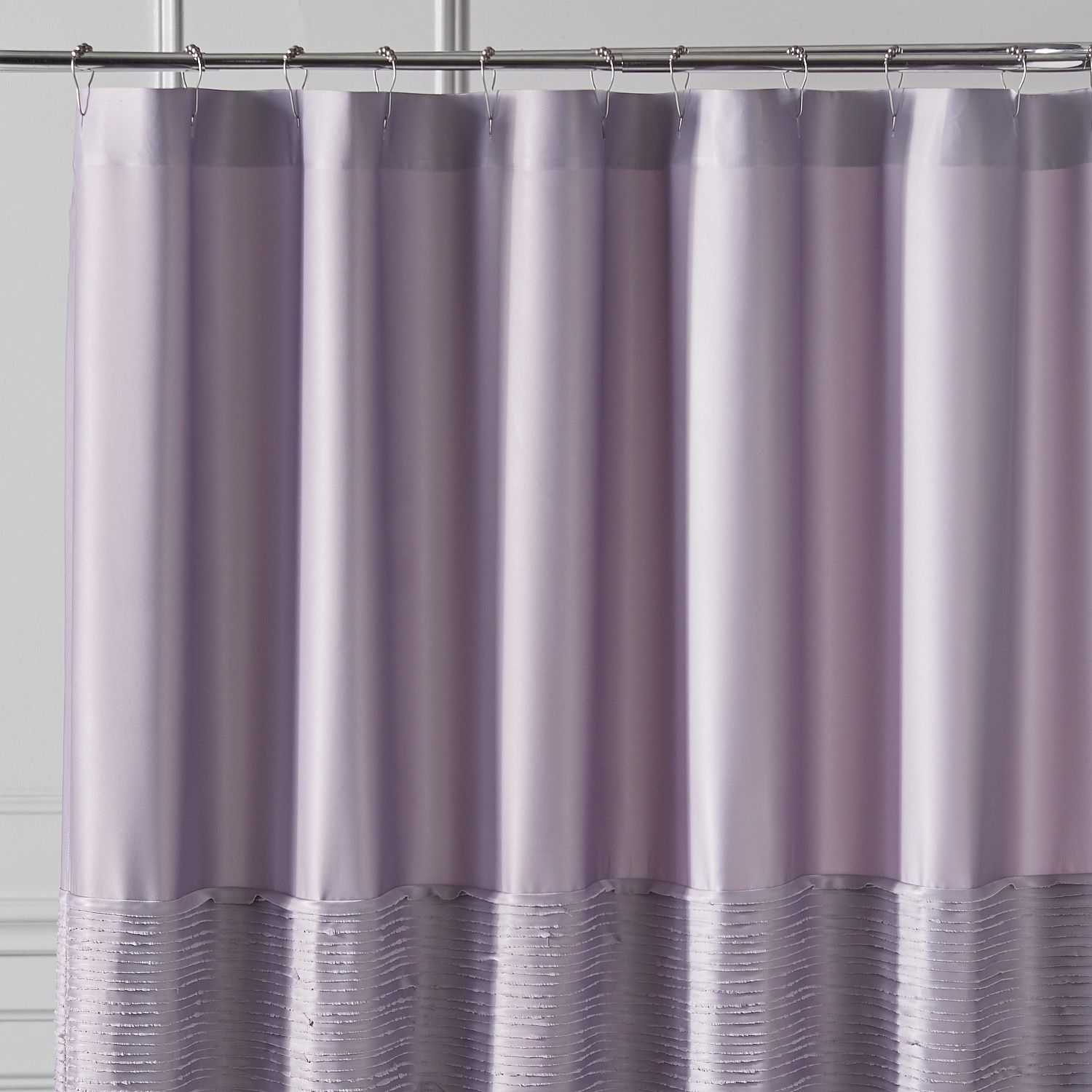 Genevieve Lilac Shower Curtain Purple