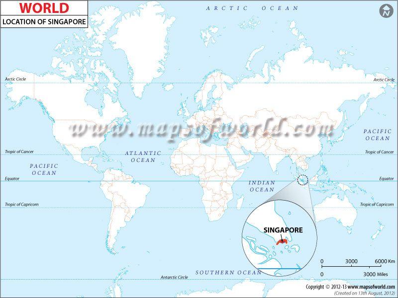 Location Map Of Singapore I Heart Sg Singapore Singapore Map