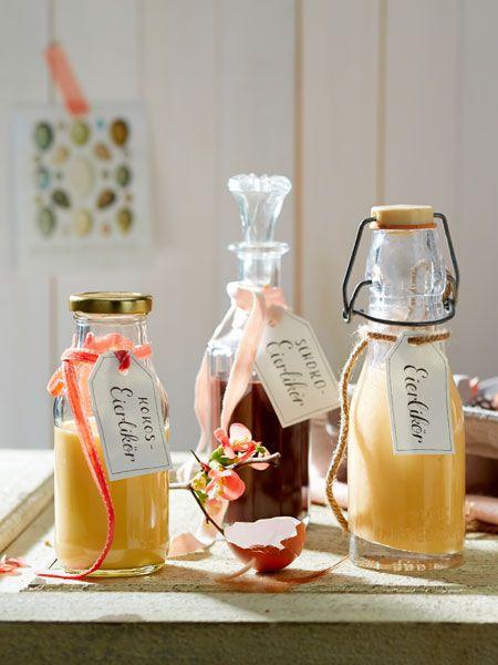 Eierlikör Rezept | Ostergeschenke aus der Küche | Rezepte, Eierlikör ...
