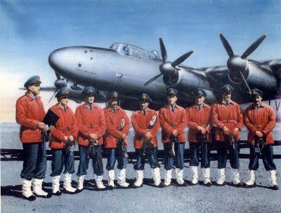 Acerca de la Antartida: Vuelo del Avro Lincoln a la Antártida (op. Enlace)