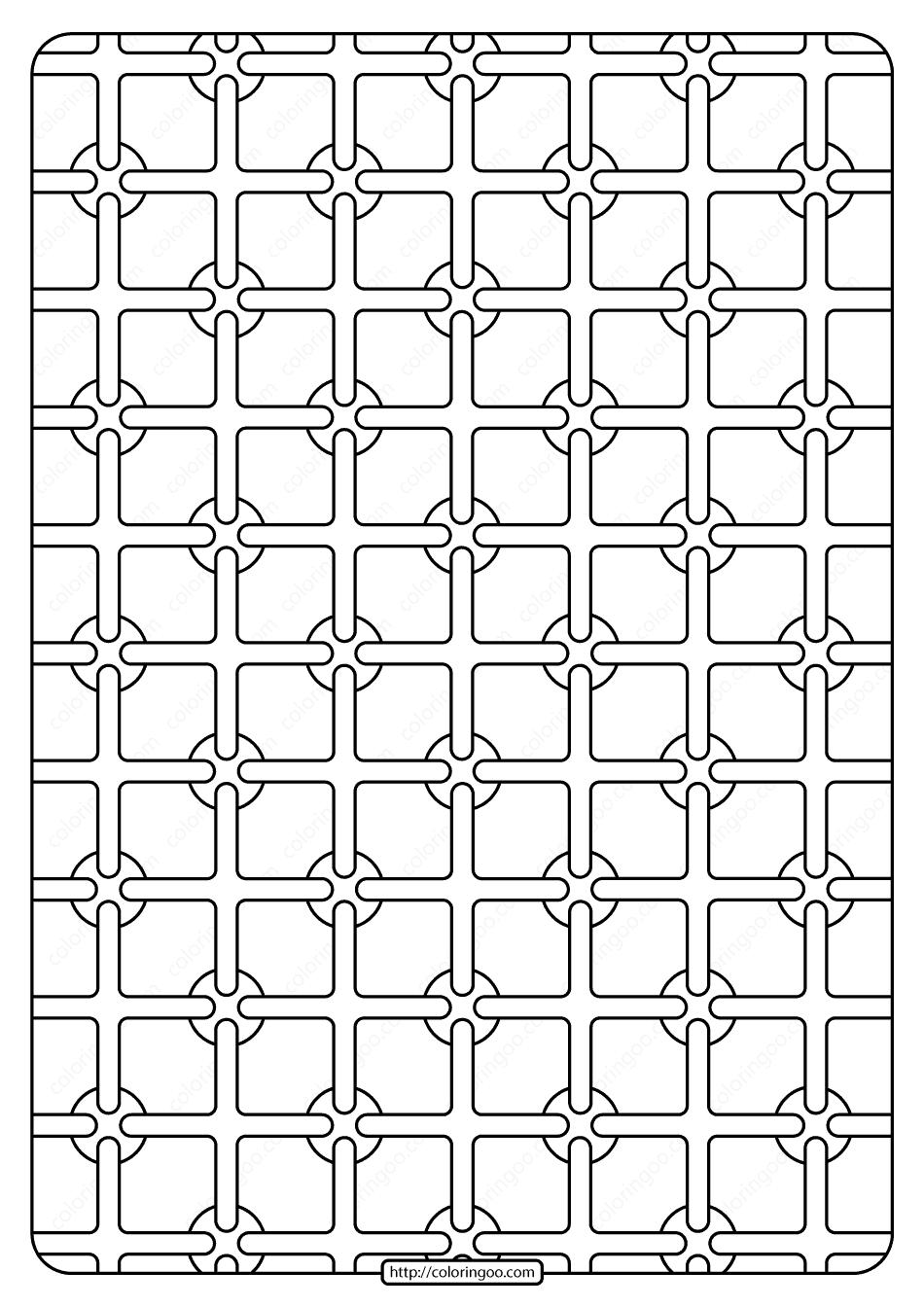 Free Printable Geometric Pattern Pdf Book 003 2020