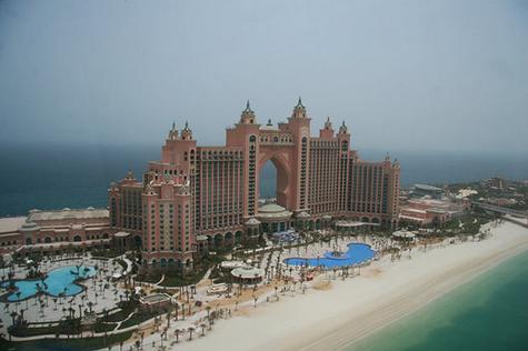 ¡La encontramos! Edificio de Atlantis, en Dubai La