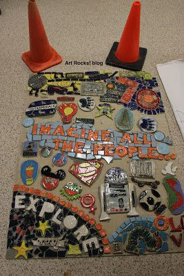 Art  Rocks!: 50th Anniversary Mosaic Preview