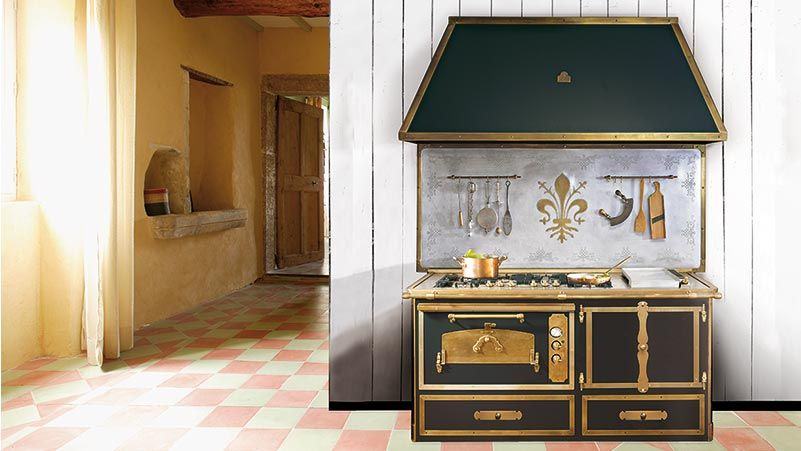 Cuisiniere Grande Largeur HELG PIANO DE CUISINE Cuisiniere - Largeur gaziniere pour idees de deco de cuisine