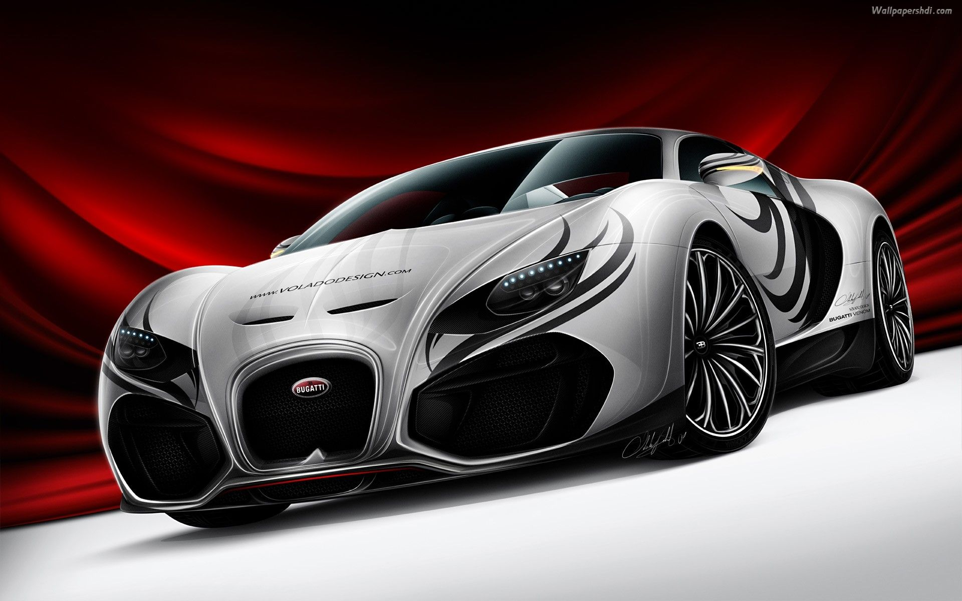 Fabulous Silver Modified Bugatti Veyron Wallpaper Bugatti Concept Bugatti Venom Bugatti