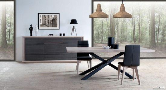 salle a manger meubles massif chene