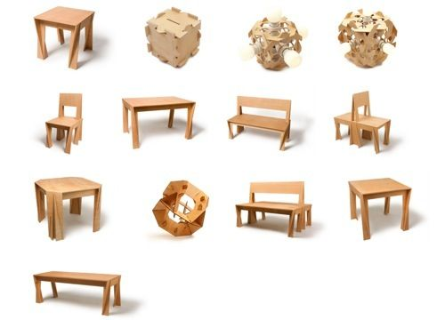 Praktrik Puzzle Furniture, by Marni in Home Furnishings. Creative furniture  designs