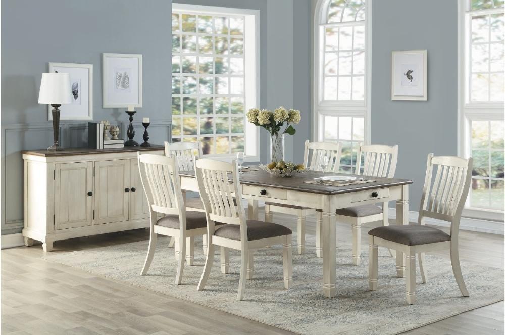 Homelegance Granby Collection Model 5627nw Di 2021 Meja Makan Desain Ide Dapur Cottage retreat dining room furniture