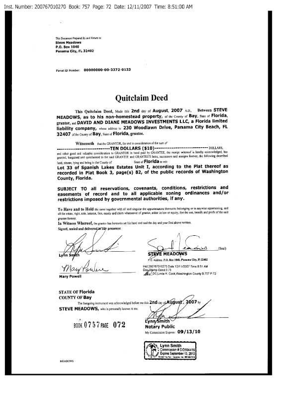 quick claim deed florida florida quit claim deed template best letter examples free forms ...