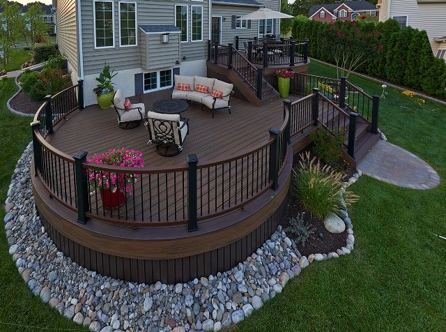 best of 2014 amazing decks decks backyard patio deck on steps in discovering the right covered deck ideas id=43100