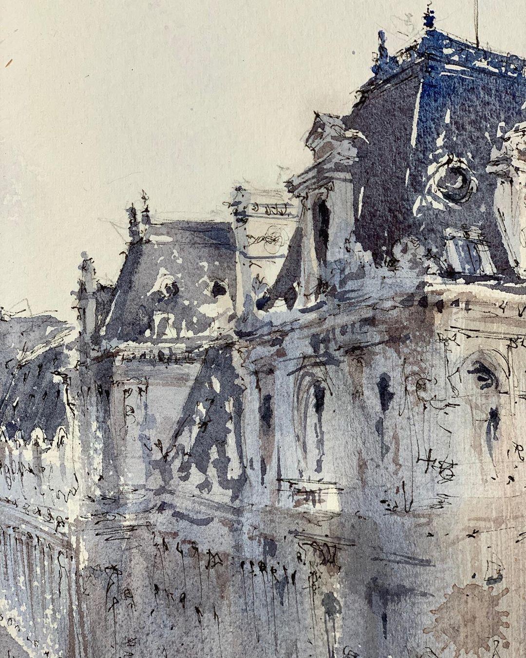 Alex Hillkurtz On Instagram Paris L Hotel De Ville I Love All