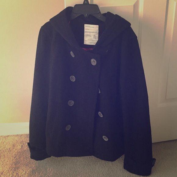 Aeropostale jacket Black jacket Jackets & Coats