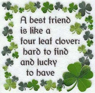 Friends...  Happy St. Patrick's Day!
