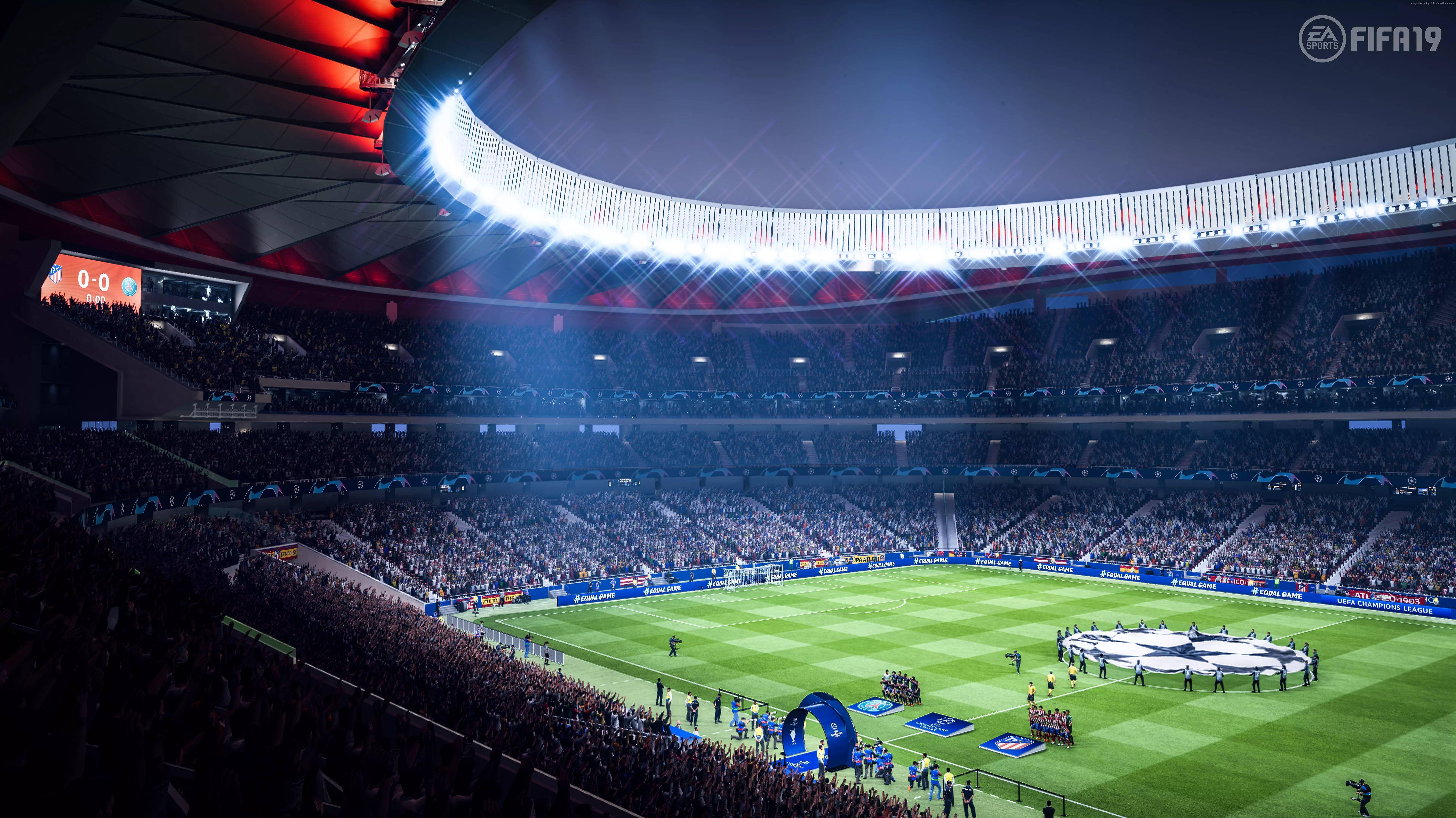 Fifa 19 Screenshot 8k E3 2018 8k Wallpaper Hdwallpaper Desktop Fifa Ps4 Or Xbox One Uefa Champions League