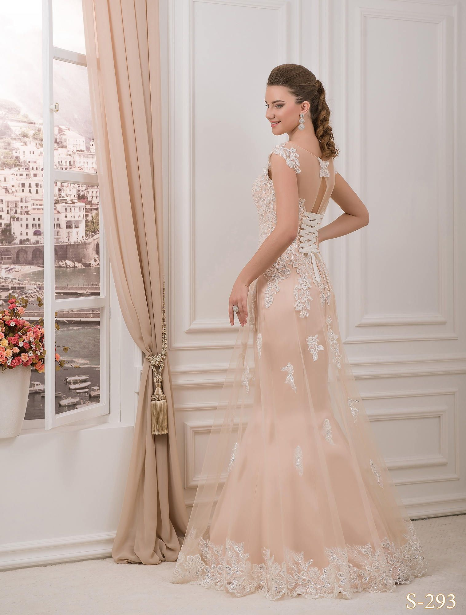 Blush pink wedding dress ho wedding dress romantic wedding blush pink wedding dress ho wedding dress romantic wedding dress back wedding dress ombrellifo Image collections