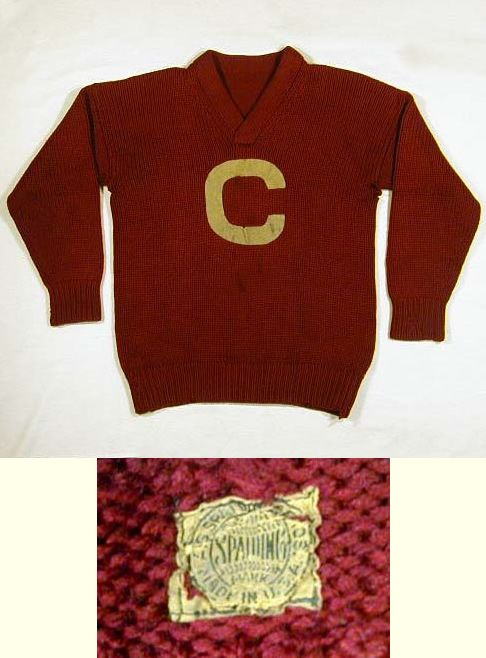 105425cbe 1910's Carlisle Indians Football Sweater/Jersey made by Spalding ...