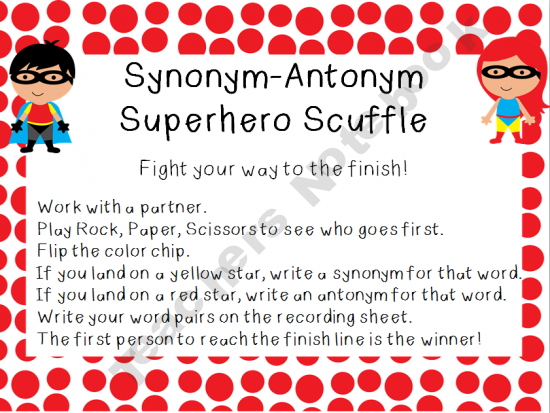 Synonym Antonym Superhero Scuffle Antonyms Activities Synonyms And Antonyms Speech And Language If you know synonyms for mama, then you can share it or put your rating in listed similar words. synonym antonym superhero scuffle