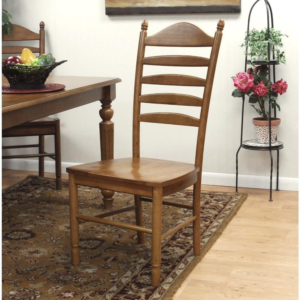 Whitman Dining Chair in English Pine