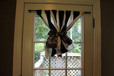 Peahen Pad Diy Door Window Curtain