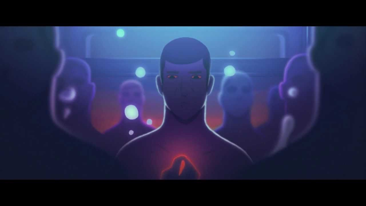 """Myosis"" animated short from Gobelins by Emmanuel Asquier-Brassart, Ricky Cometa, Guillaume Dousse, Adrien Gromelle and Thibaud Petitpas."