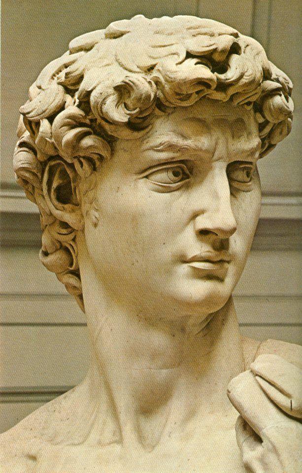 Michelangelo's David #greekstatue Michelangelo's David