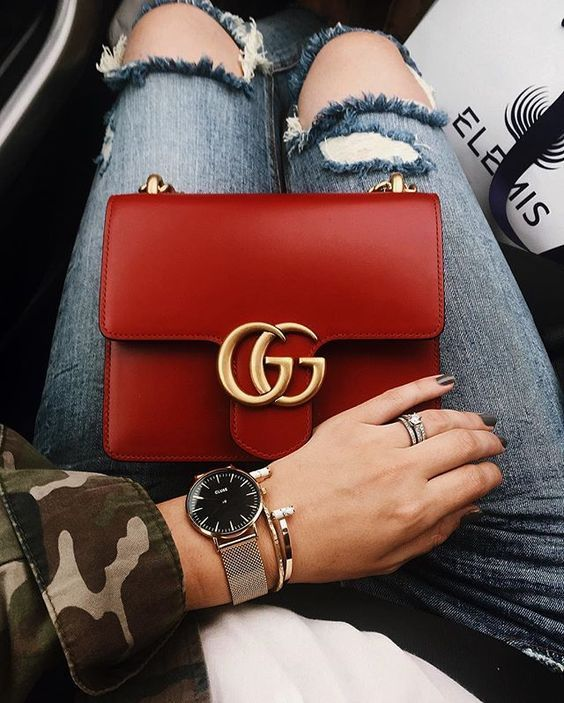 60+ Chain Bag Fashion Outfits Ideen