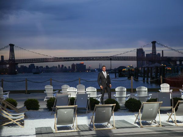 Raf Simons has just finished showcasing his Cruise 2015 collection for Dior. The show took place in New York last night, at the Navy Yard in Brooklyn