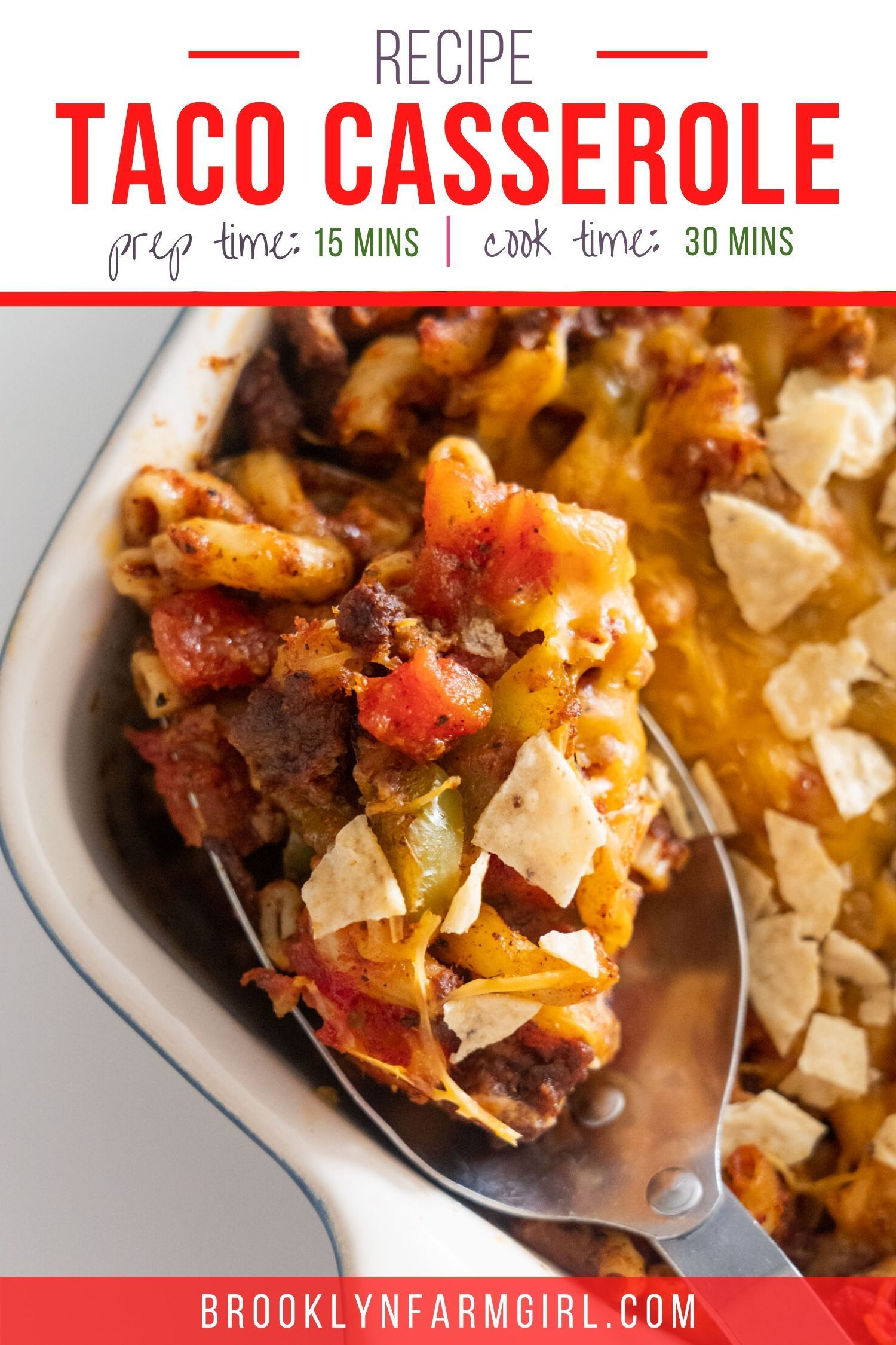 Taco Casserole With Ground Beef Recipe In 2020 Easy Casserole Dishes Comfort Food Recipes Dinners Dinner Dishes