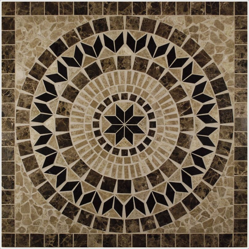 Wholesale Tile Tile Medallion 36 X36 Tumbled